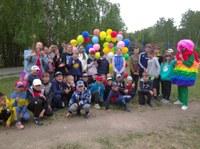 Открытие лагеря дневного пребывания