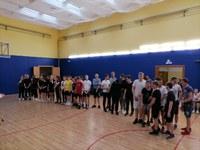 Районные соревнования по баскетболу среди учащихся общеобразовательных школ.
